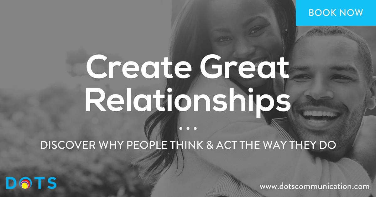 create great relationships